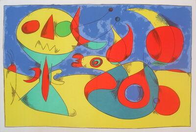 Joan Miró, 'Zephir Vogel - Zephyr Bird', 1956