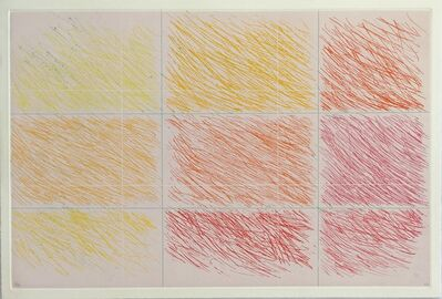 Kenneth Noland, 'Marron', 1990