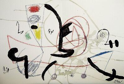 Joan Miró, 'Maravillas con variaciones acrósticas en el jardín de Miró XI', 1975