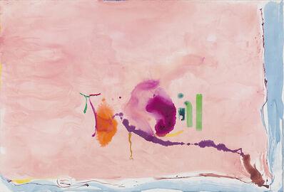 Helen Frankenthaler, 'Flirt', 1995