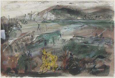 John Piper, 'Bishopstone Beach, Tide Mill', ca. 1957
