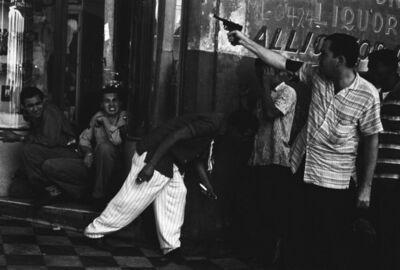 Burt Glinn, 'Shooting in the streets'