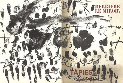 Antoni Tàpies, 'DLM No. 175 Cover', 1968