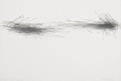 William Anastasi, 'Without title (Subway Drawing, 2.15.14 Ernie + Sandi)', 2014