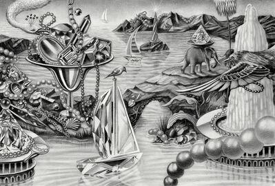 Armando Veve, 'Crystal Sailboat', 2016
