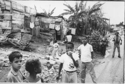 Agnès Varda, 'Marianas Area, Havana - Children (one eating an ice cream) Marianas, Havana (Cuba series)', 1962-1963