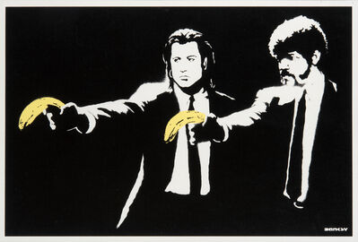 Banksy, 'Pulp Fiction', 2004