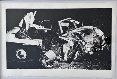 Andy Warhol, 'Car Crash Disaster - unique -', 1978