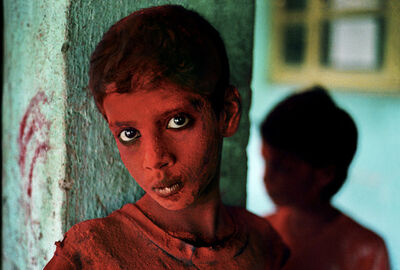 Steve McCurry, 'Red Boy, India', 1996