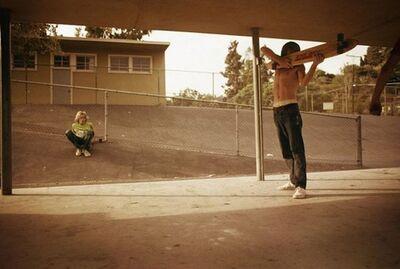 Hugh Holland, 'Skate Shooter, Kenter Canyon Elementary', 1976