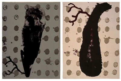 James Brown, 'Two Cells (Diptych)', 1989