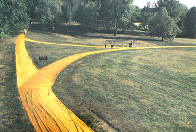 Christo and Jeanne-Claude, 'Wrapped Walk Ways, Loose Park, Kansas City Missouri 1977-78', 1991