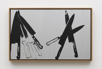 Andy Warhol, 'Knives', 1981-1982