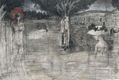 Paul Delvaux, 'L'Aurore', 1971