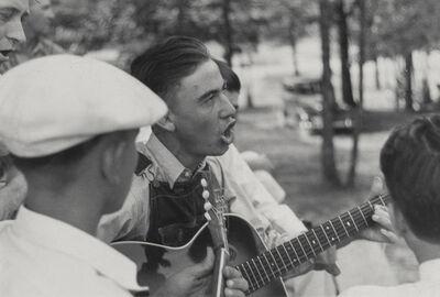 Ben Shahn, 'Music for the Skyland Farms Square Dance', circa 1930s