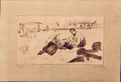 Edgar Degas, 'Sur La Plage', 1888