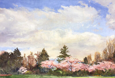 Dorothy Knowles, 'Vancouver Blossoms', 1996
