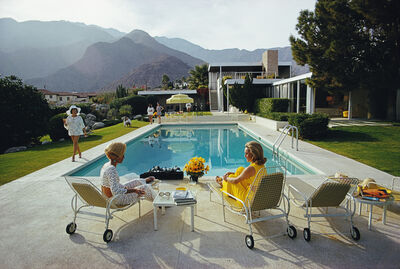 "Slim Aarons, '""Poolside Gossip"" By Slim Aarons, Estate Stamped, Only 4 Remaining Out of Edition of 150', 1970"