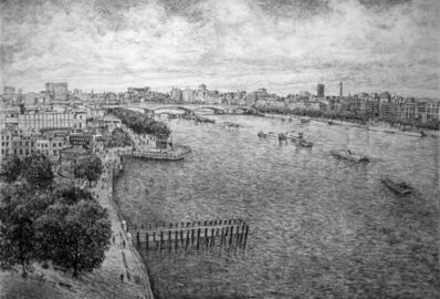 Roy Wright, 'The Thames from the Oxo Tower', 2014