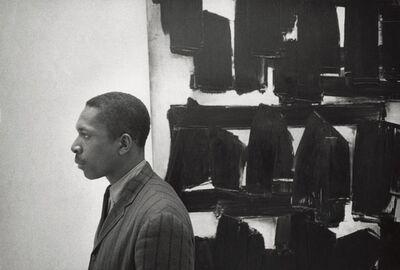 William Claxton, 'John Coltrane, Guggenheim Museum ', 1960