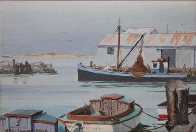 Jack Banham Coggins, 'Fish Wharves, Nantucket', 1940-1960
