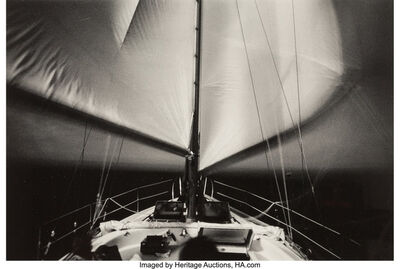 Unknown American, 'Untitled (Sailboat)', 1980