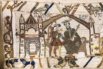 'Bayeux Tapestry ', 1070-1080