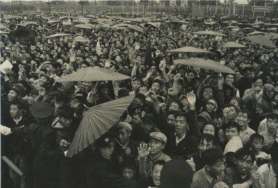 """Hiroshi Hamaya, '""""Live long Chairman Mao"""", Beijing, China, 1956', 1956"""