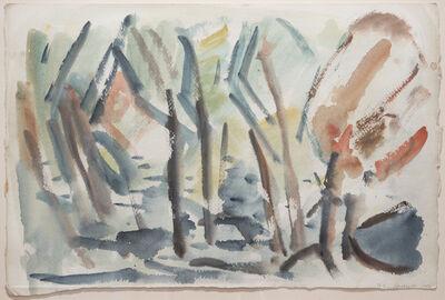 B. J. O. Nordfeldt, 'Landscape (#7 Minnesota)', 1951
