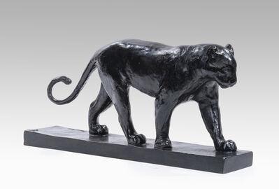 François Pompon, 'Mottled panther', ca. 1925