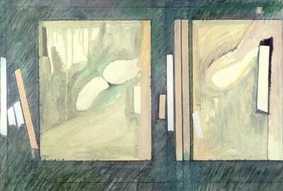 Ellen Sinel, 'Two Rectangular Dreams ', 1984