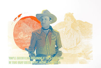 Zefrey Throwell, 'Gene Autry', 2015