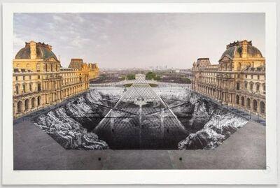 JR, 'JR au Louvre', 2019