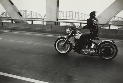 Danny Lyon, ''Crossing the Ohio River' (Louisville)'