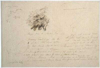 Samuel Palmer, 'Notebook Leaf No. 114'