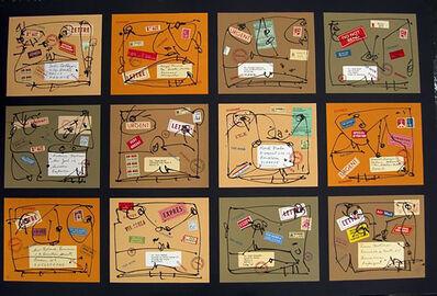 Antonio Saura, 'Poste Restante Nº 1: Ailleurs', 1984