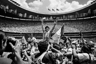 David Yarrow, 'Maradona', ca. 1986