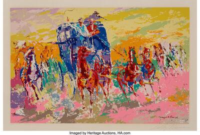 LeRoy Neiman, 'Homage to Remington', 1973