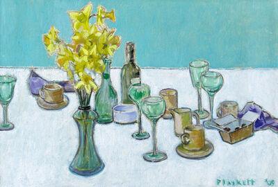 Joseph Plaskett, 'Remains of Easter Lunch (2)'
