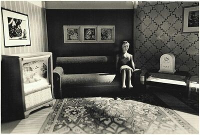Laurie Simmons, 'Woman Listening to Radio', 1978