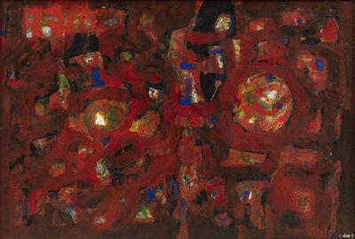 Nam Kwan, 'Composition en rouge', 1963