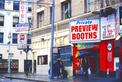Mitchell Funk, 'Private Booths, Tenderloin, San Francisco', 1999