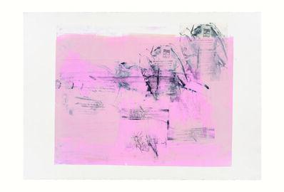 Rebeca Mendoza, 'Serie Cortazar, Monoprint D', 2015