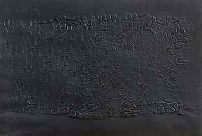 Alberto Burri, 'Cretto nero', 1971