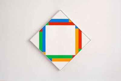 Max Bill, 'rhythmus mit gleichen quanten ', 1975