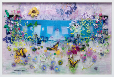 Gail Norfleet, 'The Blue Studio', 2017