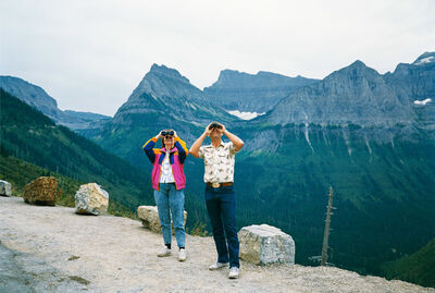 Mitch Epstein, 'Glacier National Park, Montana from the series Recreation', 1988