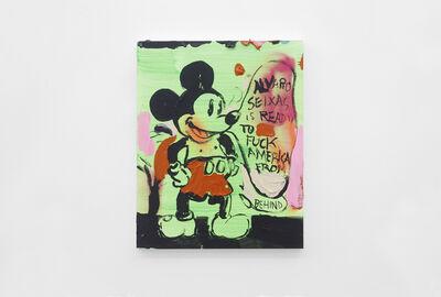 Alvaro Seixas, 'Untitled Painting (Alvaro Seixas Is Ready to Fuck America From Behind)', 2017