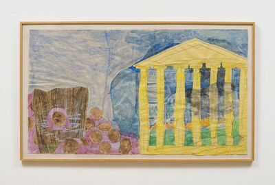 Charles Garabedian, 'Untitled (Parthenon)', 1977-1978
