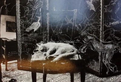 Sebastiaan Bremer, 'Little Cat in the Studio', 2011